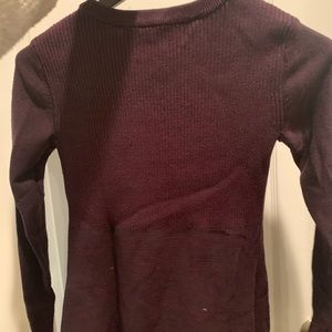 Athleta Dresses - Athleta Burgundy Sweater Dress XS